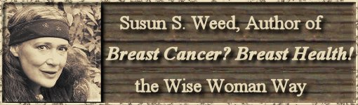 Breast Health! the Wise Woman Way with Susun Weed - click here to visit www.breasthealthbook.com