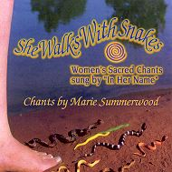 She Walks With Snakes CD cover